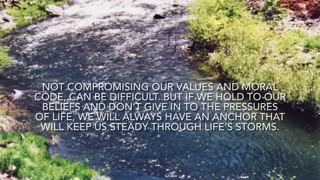 Don't give up your values
