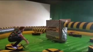 funny people taking a fall