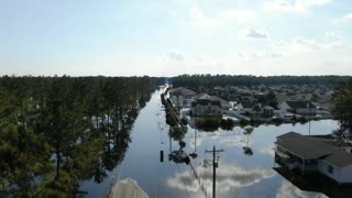Hurricane Florence Longs, SC Polo Farms Development Hwy 905 flooding