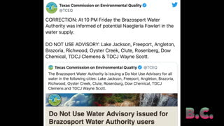 8 Texas cities were alerted to a brain-eating amoeba found in water supply