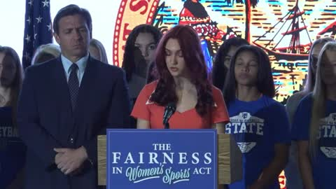 Trinity Christian Press Conference on Fairness in Women's Sports 6/1/21 Clip 01