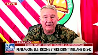 Gen. McKenzie Addresses Tragic Kabul Drone Strike