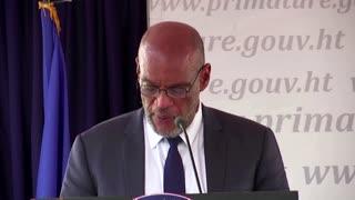 Haiti swears in new prime minister
