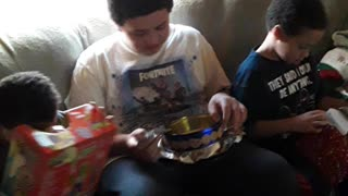 Christmas through child's eyes