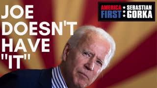 "Joe doesn't have ""it"" Victor Davis Hanson on AMERICA First with Sebastian Gorka"