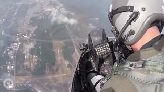 Cockpit View USAF F-16