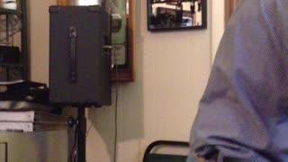 Dad 75 singing