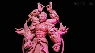 Sculpture Asura