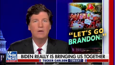 """WATCH: Tucker's Take on #FJB and """"Let's Go Brandon"""" Is Hilarious"""