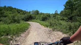 Bailey's Mountain Bike Trails - Chauncey, Ohio