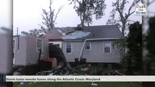 Isaias wreaks havoc on Atlantic Coast