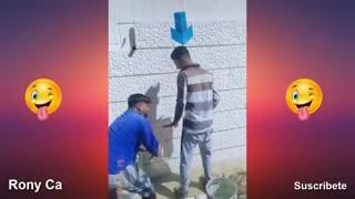 Videos graciosos caídas momentos locos