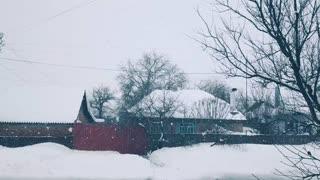 Amazing snowfall