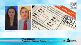 Tom Fitton on mail-in ballots