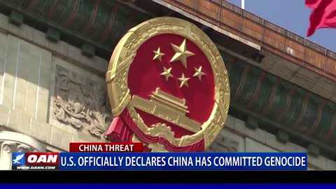 U.S. officially declares China has committed genocide