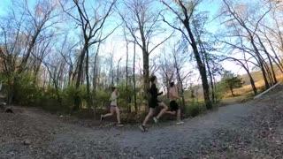 Fall Cross Country Course Run