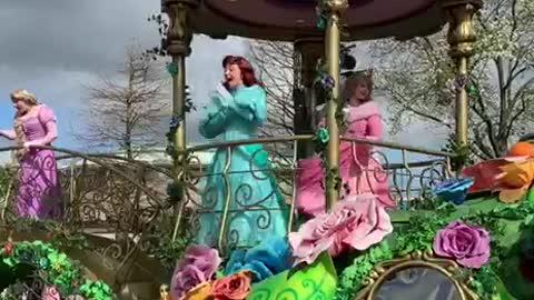 Disneyland Princess Parade