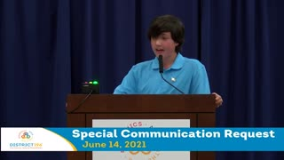 INCREDIBLE 15-Year Old BLASTS School Board Over Critical Race Theory