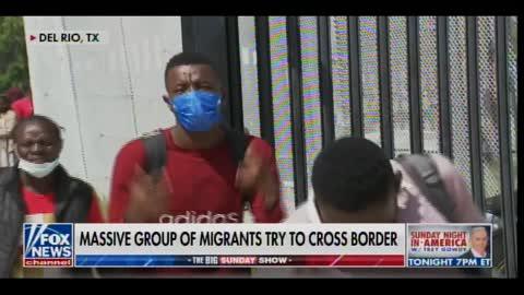 Bill Melugin: Border Patrol Apprehends 20,000 Illegal Aliens at Del Rio Crossing in ONE WEEK