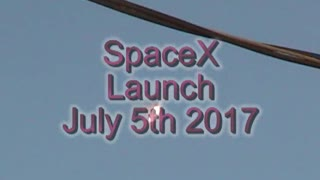 space X launch July