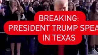 Just In. 01.12.21: President Trump Speaks In Texas