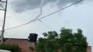 Un remolino sobre el cielo de Cúcuta generó pánico