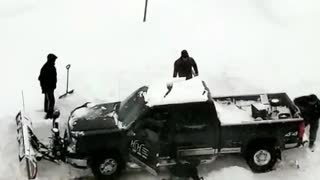 Many Minnesotans Getting Stuck in Snow