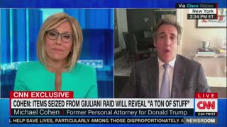 """Giddy Michael Cohen Is Basking In """"Stupid"""" Rudy Giuliani Getting Treatment"""