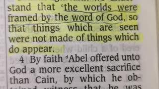 Faith made words