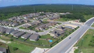 Drone flight of San Antonio Texas