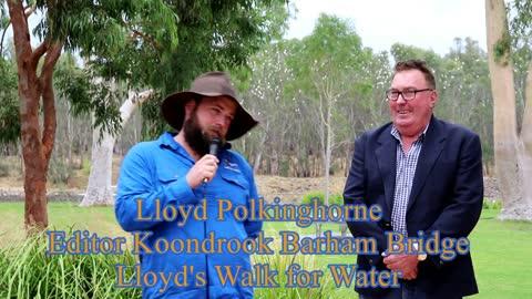 Lloyd Polkinghorne at Yarrawonga.