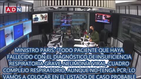 FALSAS MUERTES ETIQUETADAS COMO COVID-19 Y EVIDENCIAS DE LA MANIPULACION DE CIFRAS EN CHILE