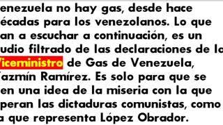 ¿Qué gas va vender Maduro a López Obrador? Sino hay gas en Venezuela
