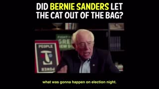 Bernie Sanders uncanny prediction