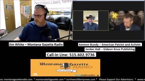 Ammon Bundy and Jordan Hall Live on MG Radio