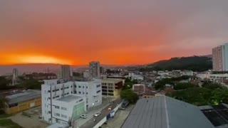 Atardecer en Bucaramanga