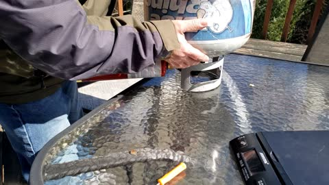 Saving Cash 1lb Propane bottle Refilling