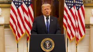 President Trump farewell speech