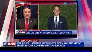 Report: AG Barr kept investigations into Hunter Biden secret before 2020 Presidential Election