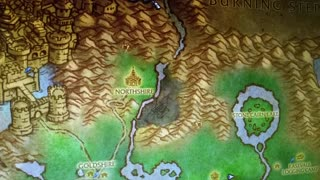World of Warcraft Flight Around Elwynn Forest