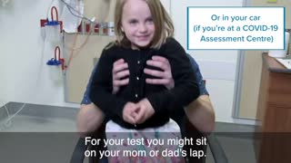 How children are tested for Covid 19