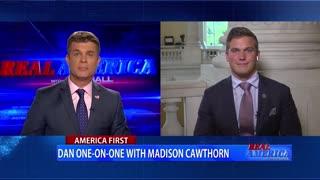 Real America - Dan W/ Rep. Madison Cawthorn (May 20, 2021)
