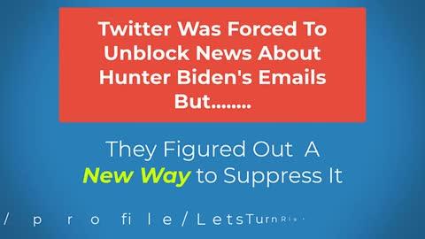 Twitter Censors In Many Ways
