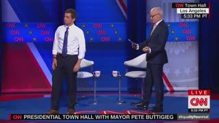 Black Trans Protesters Interrupt Pete Buttigieg at CNN LBGTQ Town Hall