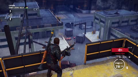 Just Cause 3 Demo Gameplay part 27 LACOS CIMA LEON : SILO Military Base Liberation