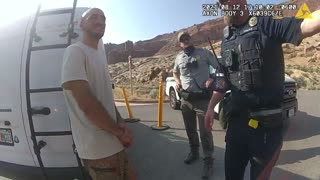 FULL VIDEO: Gabby Petito's Interaction With Utah Police on August 12