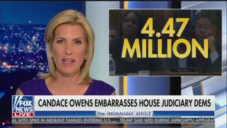 Candace Owens explains to Laura Ingraham why Democrats hate her testimony