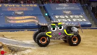 Crazy Monster Truck Freestyle Moments(2021)