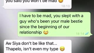 Cheating gf exposed