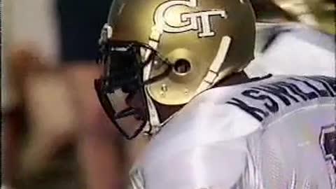 Telecast of 1990 Georgia Tech vs UVA football game - 2